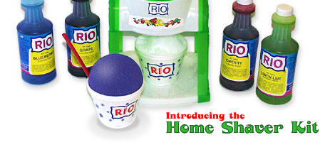 Introducing the Home Ice Shaver Kit